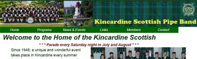 Kincardine Scottish Pipe Band