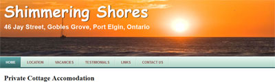 Shimmering Shores - Port Elgin
