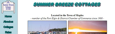 Summerbreeze Cottages - Port Elgin